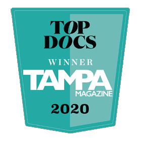 Tampa Magazine Top Docs Winner 2020